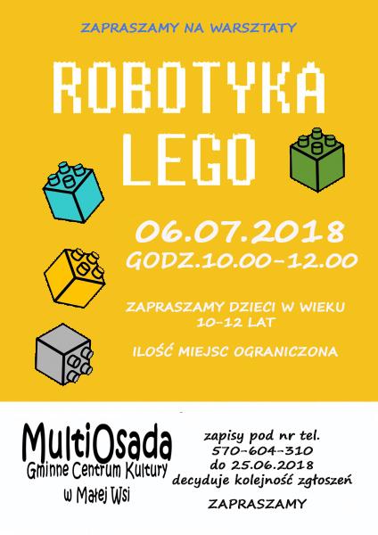 Robotyka Lego Warsztaty Z Robotyki Dla Dzieci W Wieku 10 12 Lat