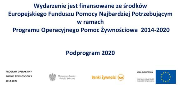 Wydawanie paczek żywnościowych od dnia 28.06.2021 r.