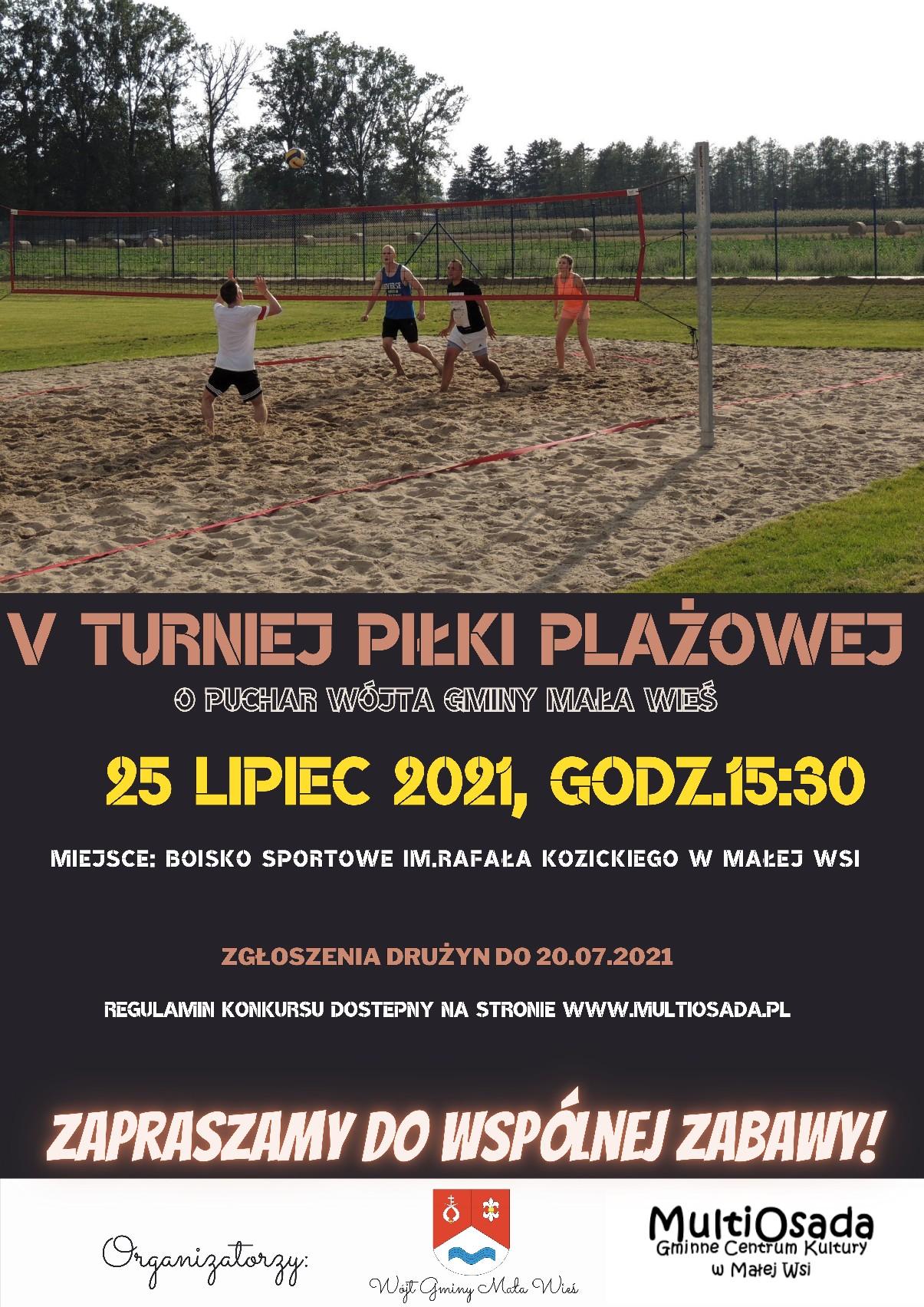 V Turniej Piłki Plażowej w Małej Wsi
